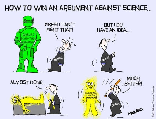 How to win an argument against science