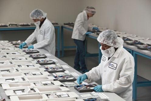 Clinical trial kit production